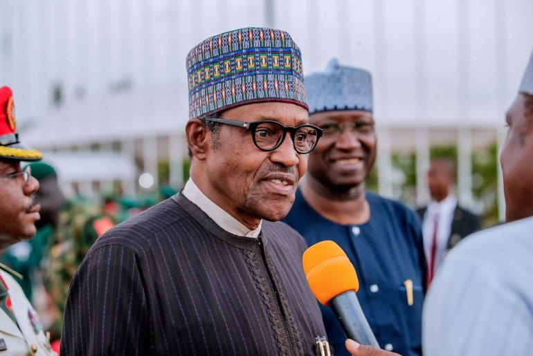 Buhari returns from UK visit