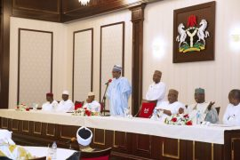 Buhari and his visitors