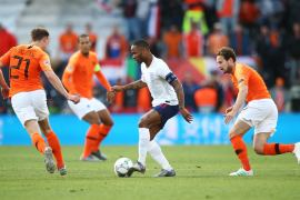 England Netherlands in the UEFA Nations League