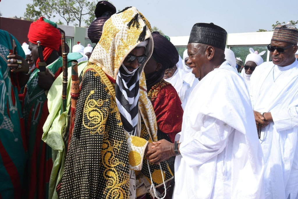Emir of Kano and Ganduje