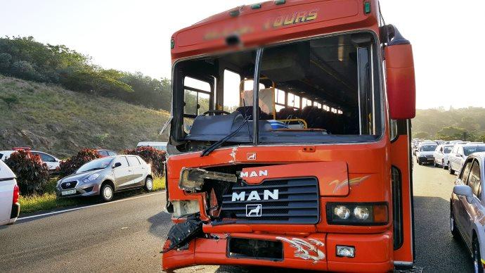 Scores injured in Durban Bus crash