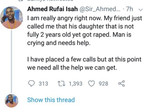 """What has she done to deserve this madness?"""" man condemns rape of 1-year-old girl in Abuja"""