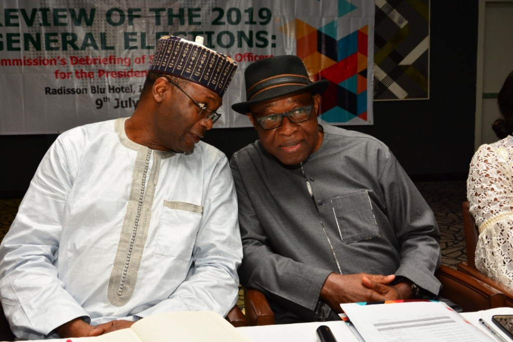 INEC chairman, National Commissioner