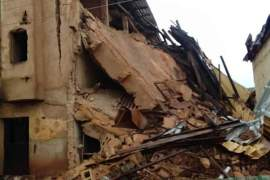 Jos building collapse