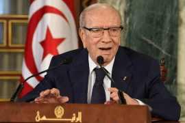 Late Tunisian President, Beji Caid Essebsi