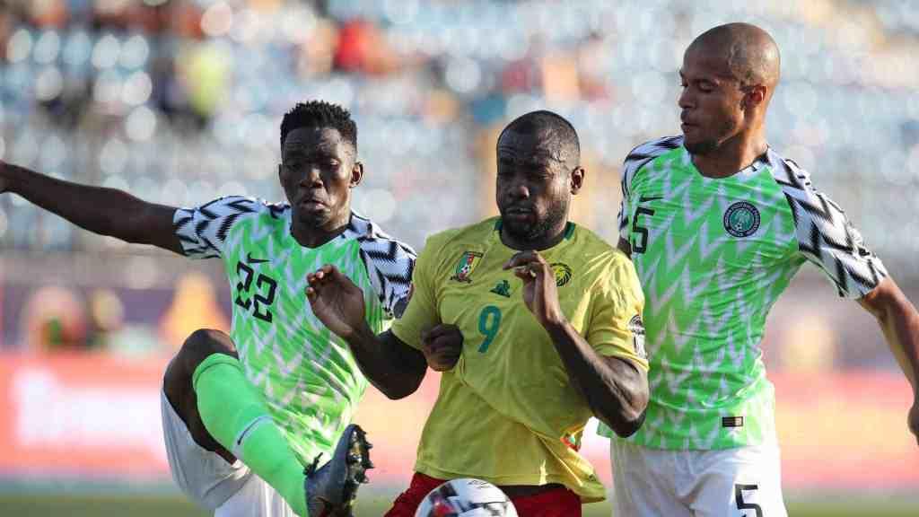 Super Eagles of Nigeria vs Cameroon