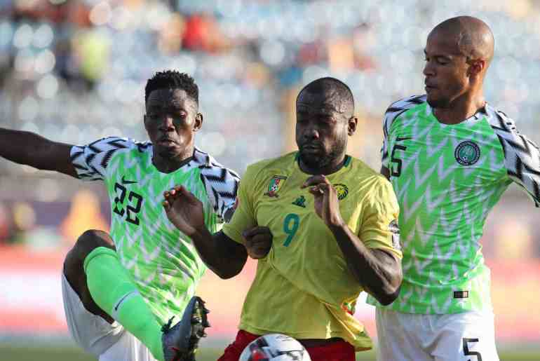 Super Eagles of Nigeria vs Cameroon