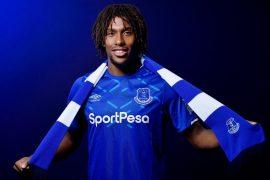 Alex Iwobi at Everton