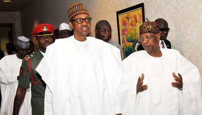 President Buhari, Lai Mohammed