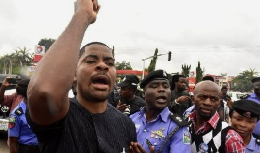 Activist Adeyanju reacts to IPOB's planned attack on Buhari in Japan