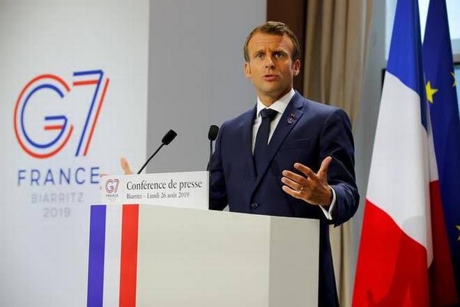 G7 entrepreneurs - Macron, French President
