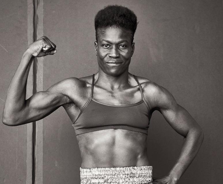 Helen Joseph boxing