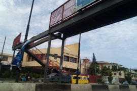 Yaba pedestrian bridge