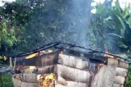 black market petrol fire