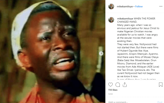 Witchcraft inspired me to produce movie –Mike Bamiloye