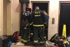 new york elevator incident
