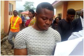 soldier who raped aaua student