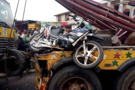 Truck suffers break failure, crushes soldier to death in Ogun
