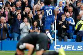 The wait is over: Frank Lampard clinches first home victory