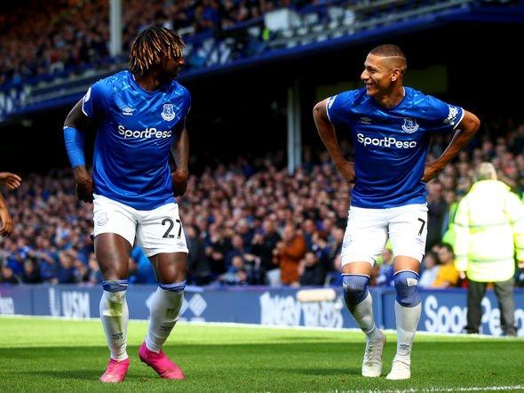 Everton Iwobi Wolves