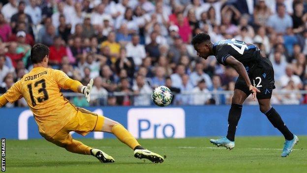 Nigerian Emmanuel Dennis scores brace against Real Madrid in UCL