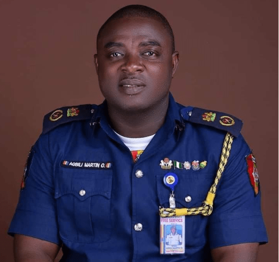 The Enugu State Fire Service On Thursday Commenced The Fumigation Of Major Markets And Some Public Spaces In The State In View Of The Coronavirus (covid 19) Pandemic. The State Chief Fire Officer, M
