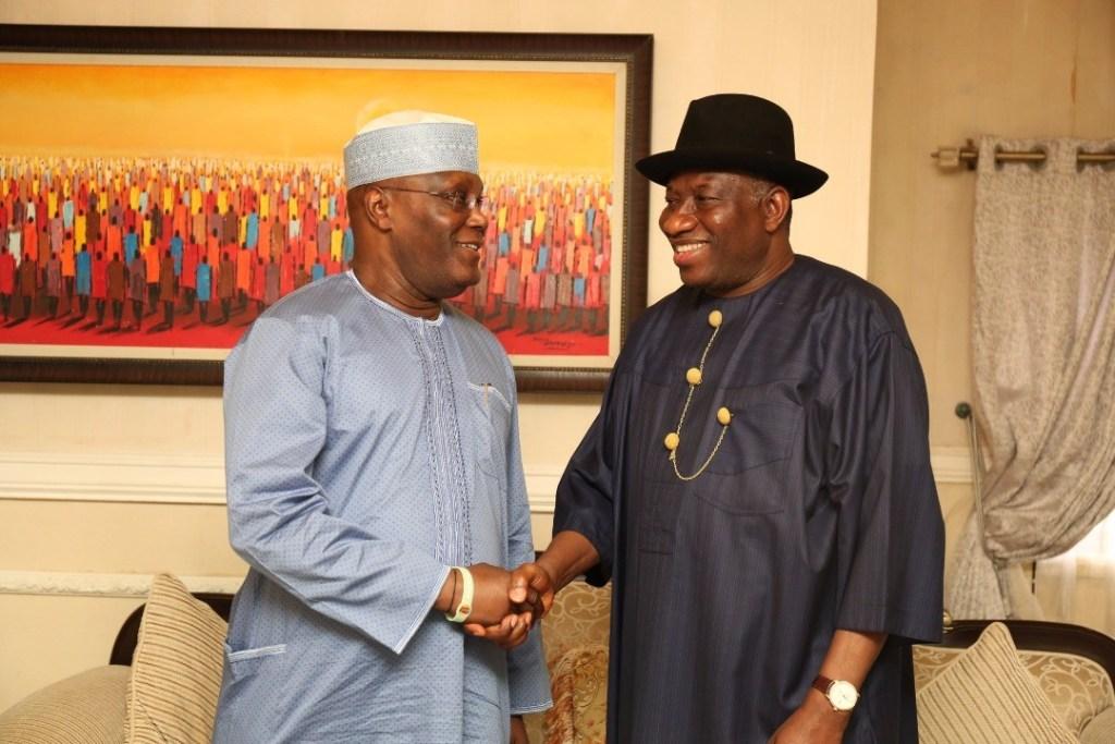 Alhaji Atiku Abubakar Goodluck Jonathan