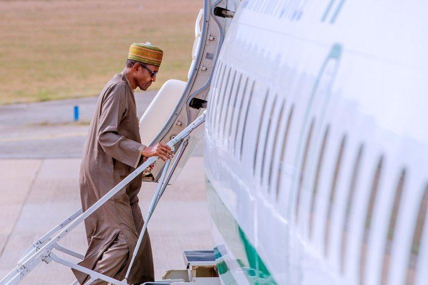 president buhari travel-london