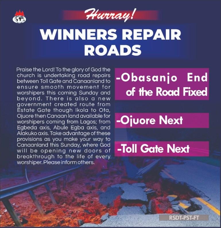 david-oyedepo-repairs-ogun-state-roads-ahead-of-shiloh-2019