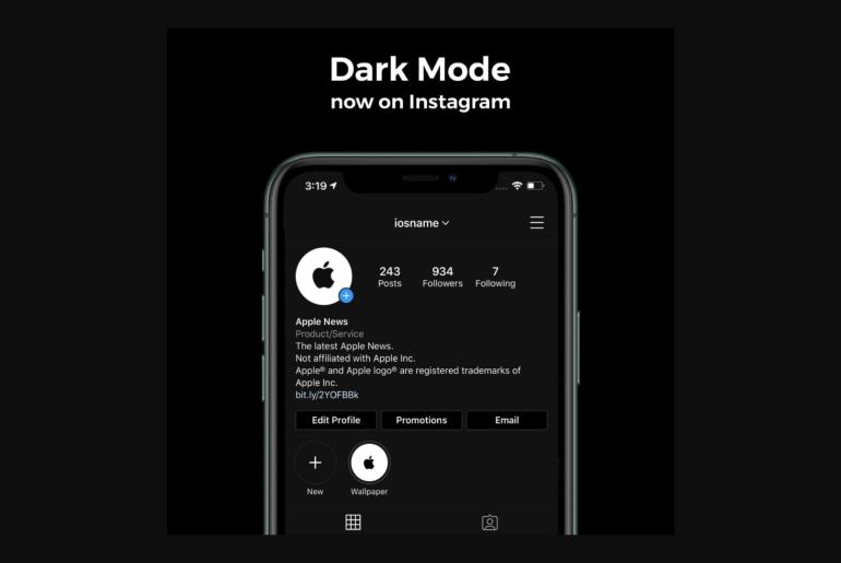 Instagram Dark Mode feature comes to iPhone