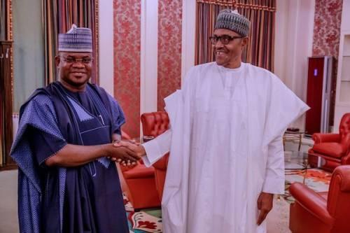 Yahaya Bello and Buhari
