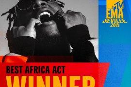 Burna boy wins Best African act at 2019 MTV EMAs