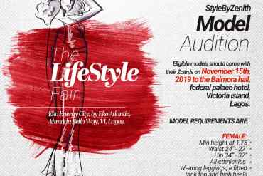 Style by Zenith invites models for audition November 15