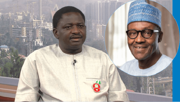 Femi Adesina reacts to Buhari's new name, Major-General