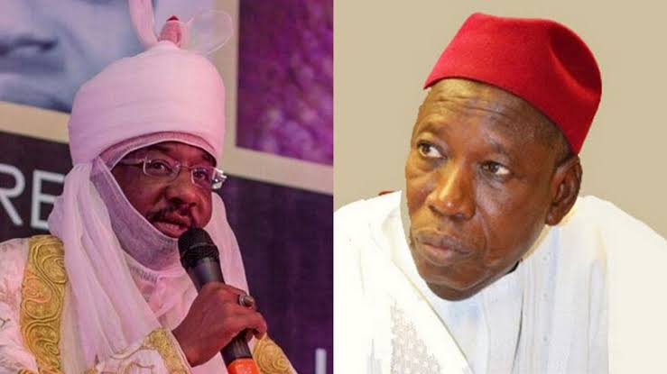 Ganduje Says He Has Received Requests To Dethrone Sanusi
