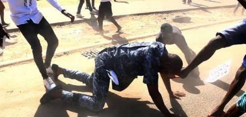 Deji Adeyanju Reveals Those Behind His Attack