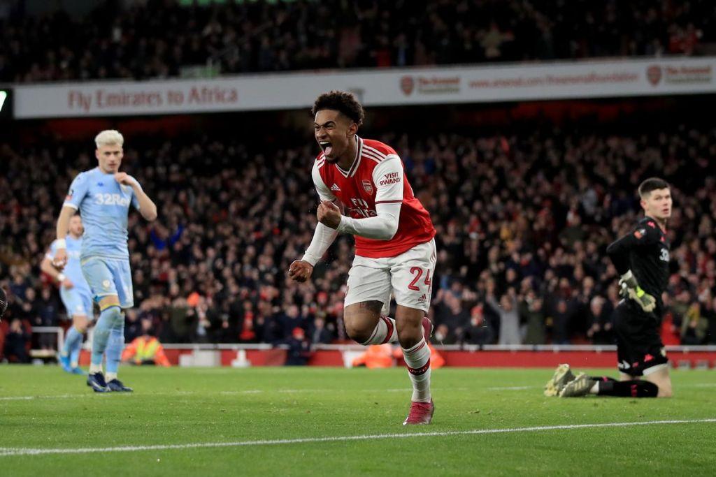 Arsenal Leeds Reid Nelson