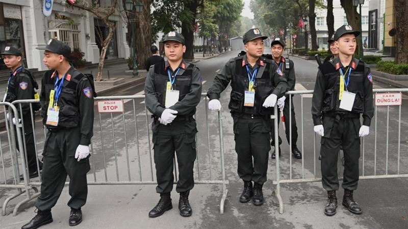 3 police officers killed in vietnam over land
