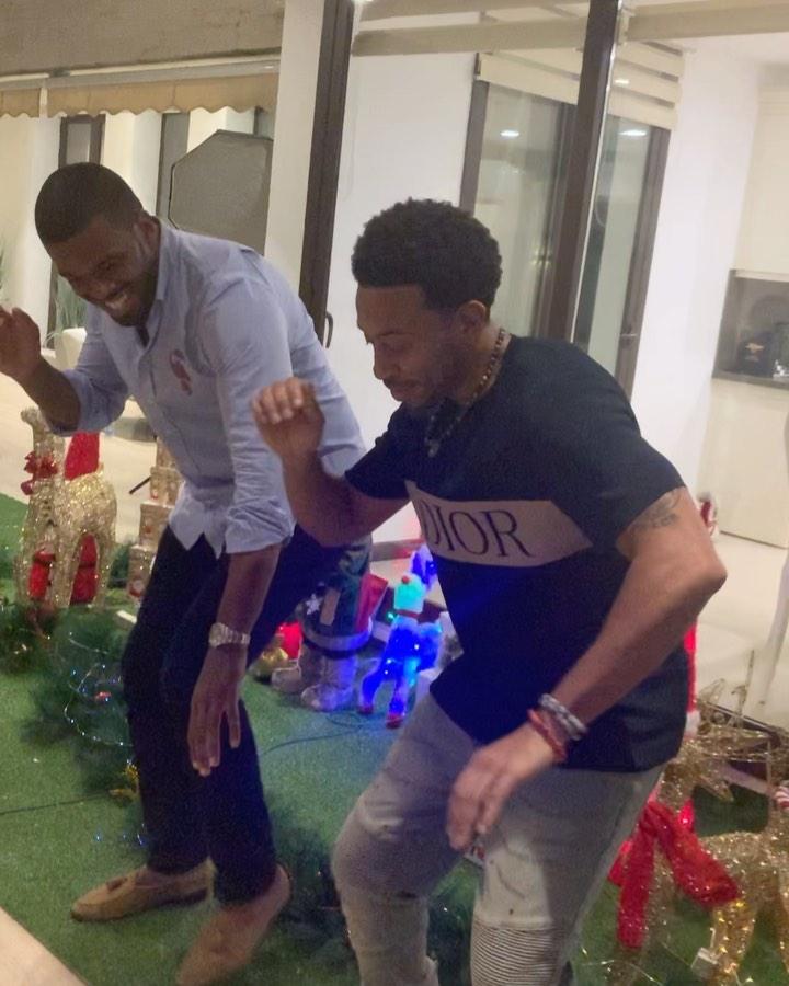 "Ludacris Seen Dancing Zanku To Burna Boy's Song ""Killin Dem"""