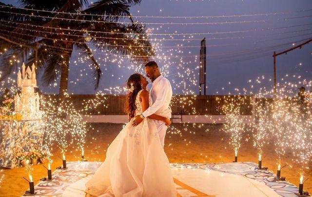 Simi, Adekunle Gold celebrate One Year Wedding Anniversary With Emotional Words