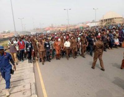 AMOTEKUN: Thousands Hold Solidarity Rally In Ado-Ekiti