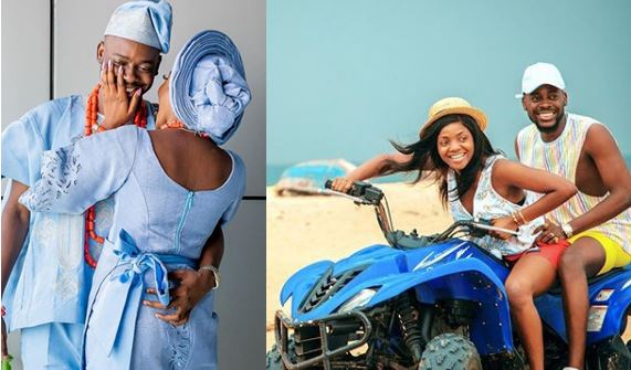 First Wedding Anniversary: Beautiful Pictures of Simi and Adekunle Gold