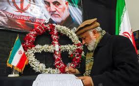 stampede at iranian general's burial
