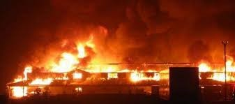 fire razes old sokoto market