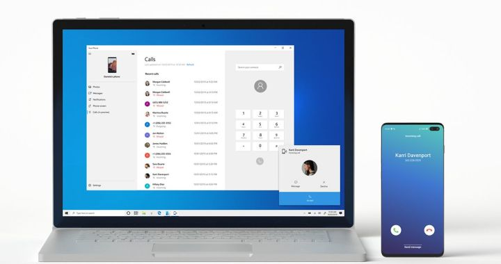New Microsoft Your Phone app update let users pick calls on PC