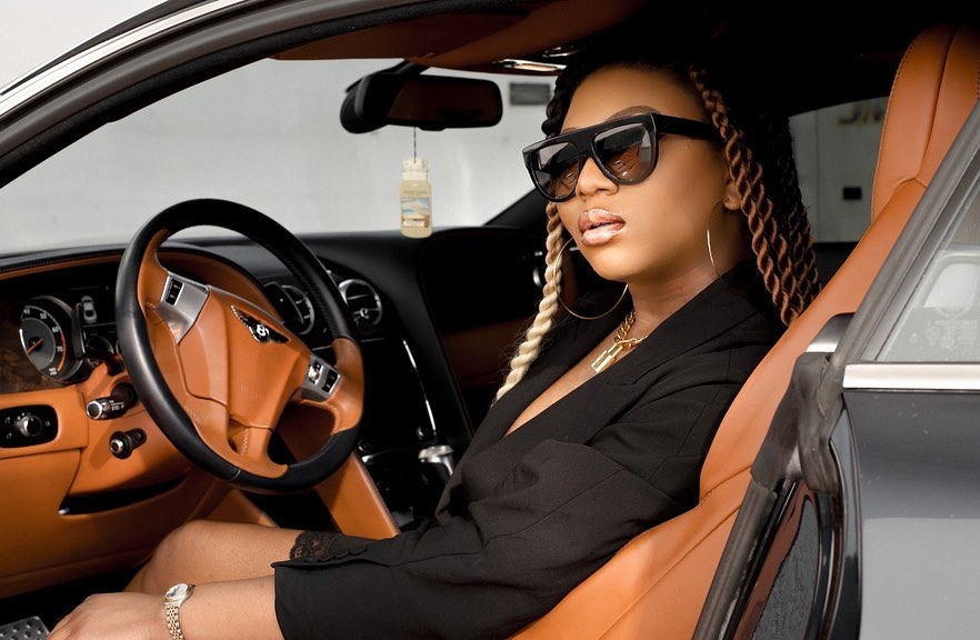 Valentine Surprise: TV Host Stephanie Coker Receives Bentley as Val's gift