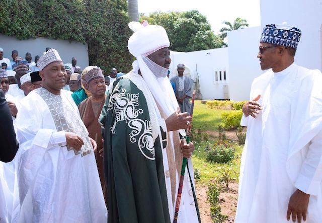 I will not interfere in Ganduje-Sanusi feud - Buhari