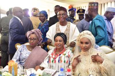 Kaduna Governor, El-Rufai and wives