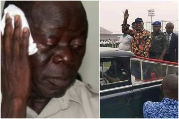 Oshiomhole reacts to Davido Lyon's loss, says Bayelsa will have no Governor