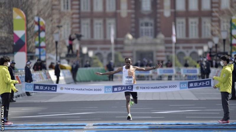 Tokyo marathon coronavirus